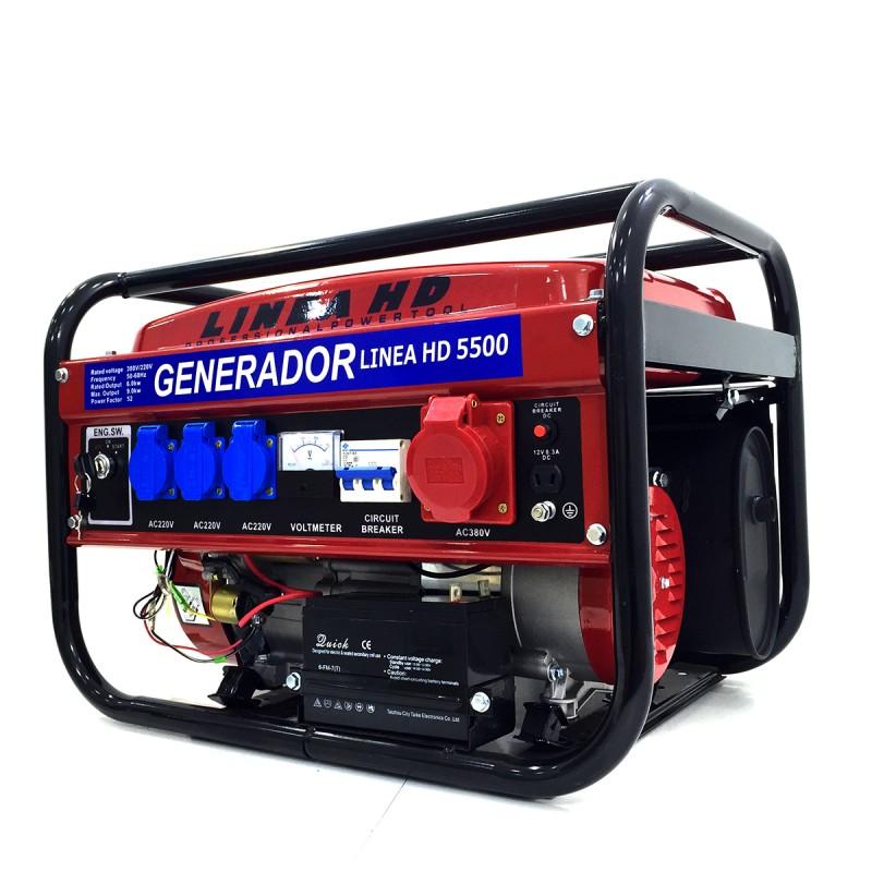 Generador trif sico a gasolina 3000w arranque el ctrico - Generador electrico gasolina ...
