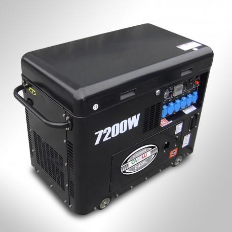 Generador eléctrico Diésel Monofásico 7.2KVA