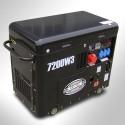 Generador eléctrico Diésel Trifásico 7.2KVA