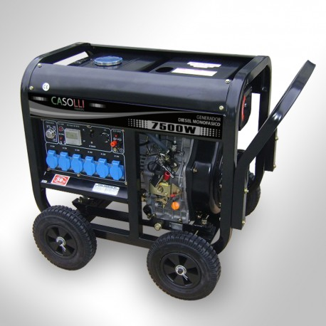 Generador Diesel 7500 Arranque Eléctrico