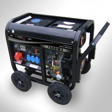 Generador Diesel Trifásico 7500 Arranque Eléctrico
