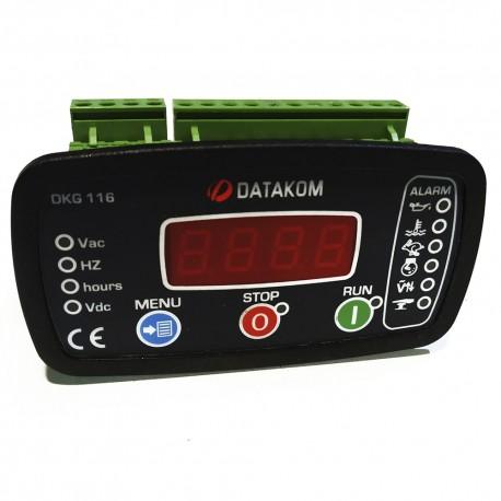 Unidad Datakom arranque manual y remoto para generador