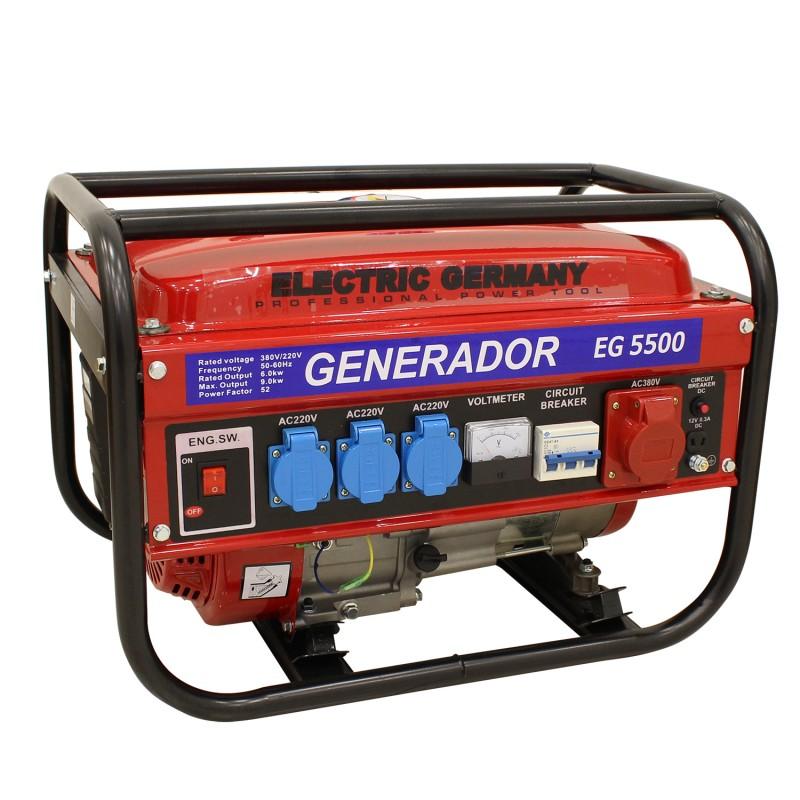 Generador el ctrico trif sico monof sico 3000w for Generador gasolina barato