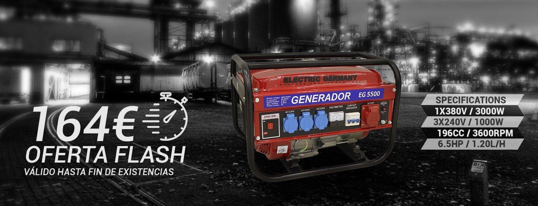Generadores gasolina low cost