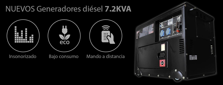 Generadores Diesel Insonorizados